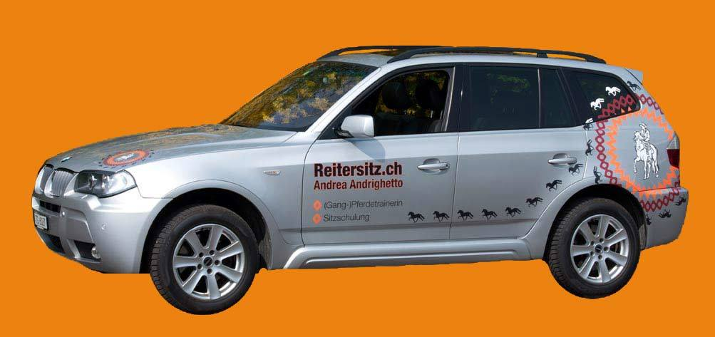 Das Firmenauto - Reitersitz.ch